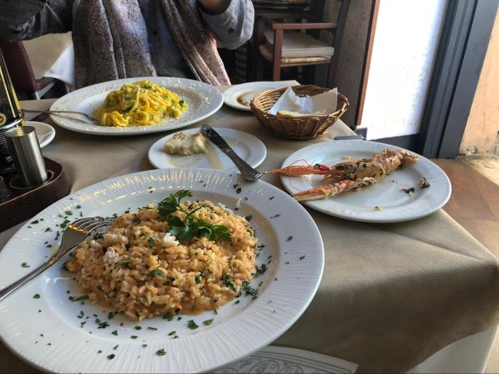Carbonara & Scampi