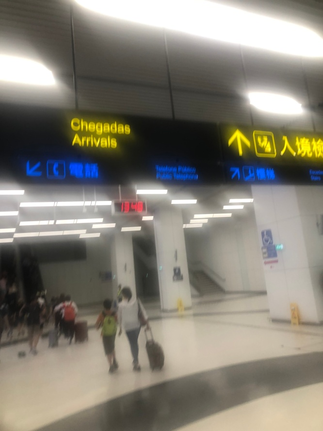 MACAO arrival