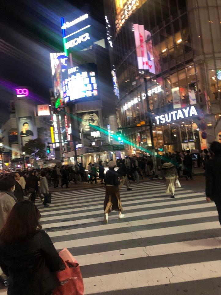 Shibuya Xg at night