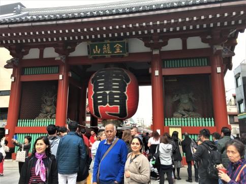 Sensoji KAnarimon gate