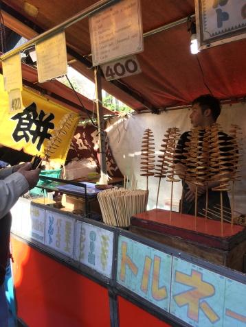 Fushimi food stall 1