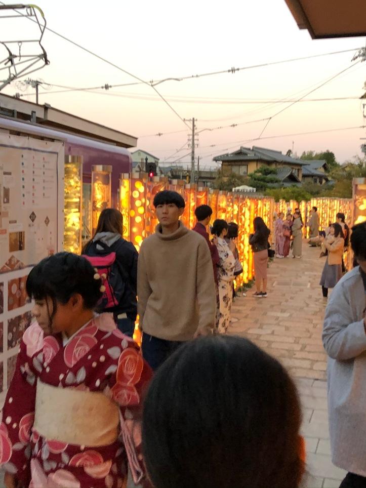 ARASHIYAMA lights