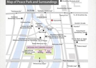 Hiroshima map