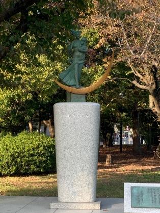 hiroshima statue